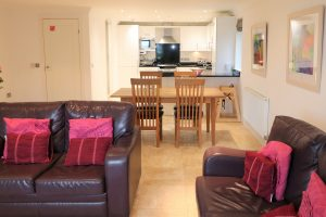 Trebetherick Ocean Blue Holiday apartment Cornwall spacious