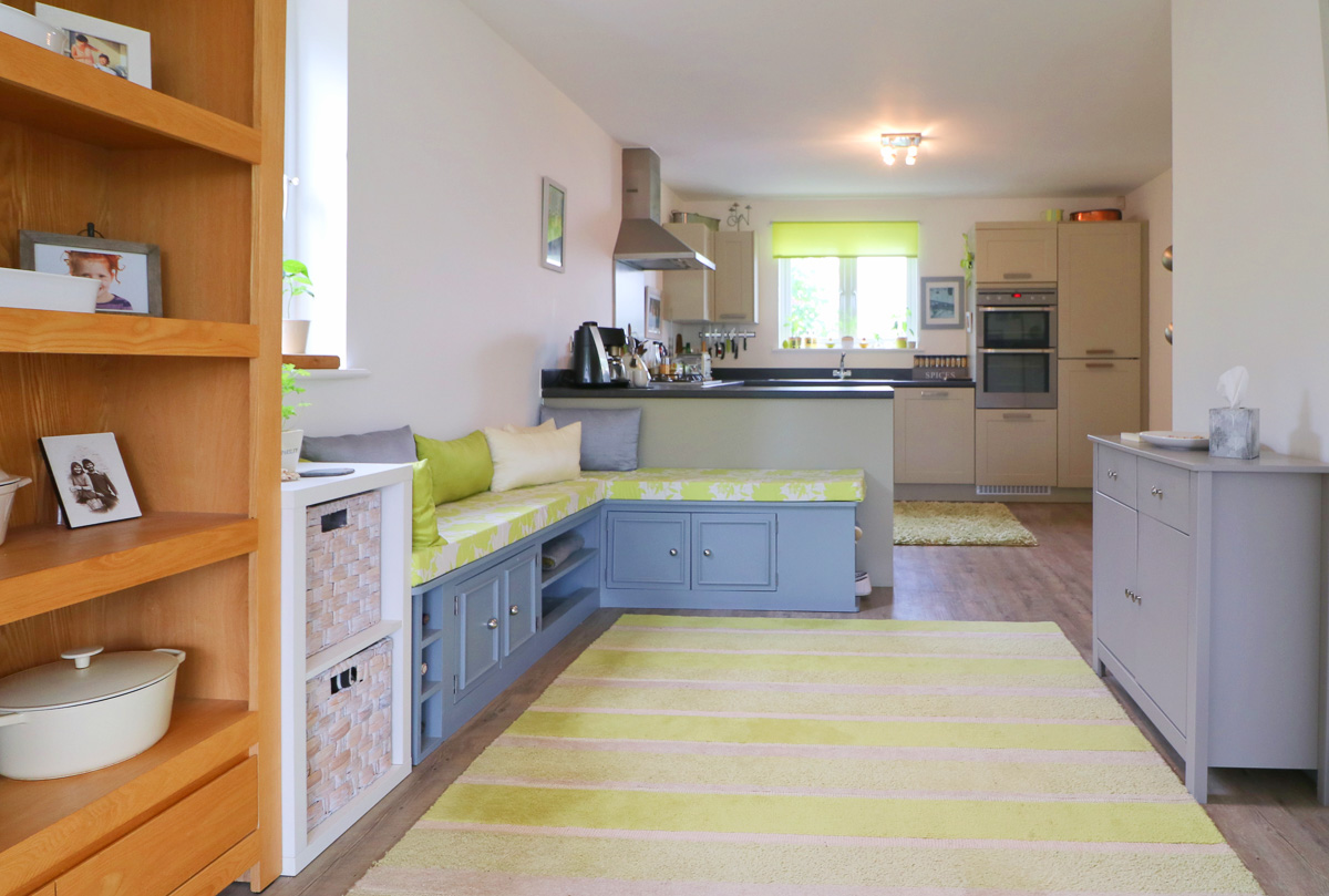 Waterhouse holiday home Cornwall open plan living