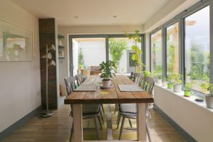Waterhouse holiday home dining table