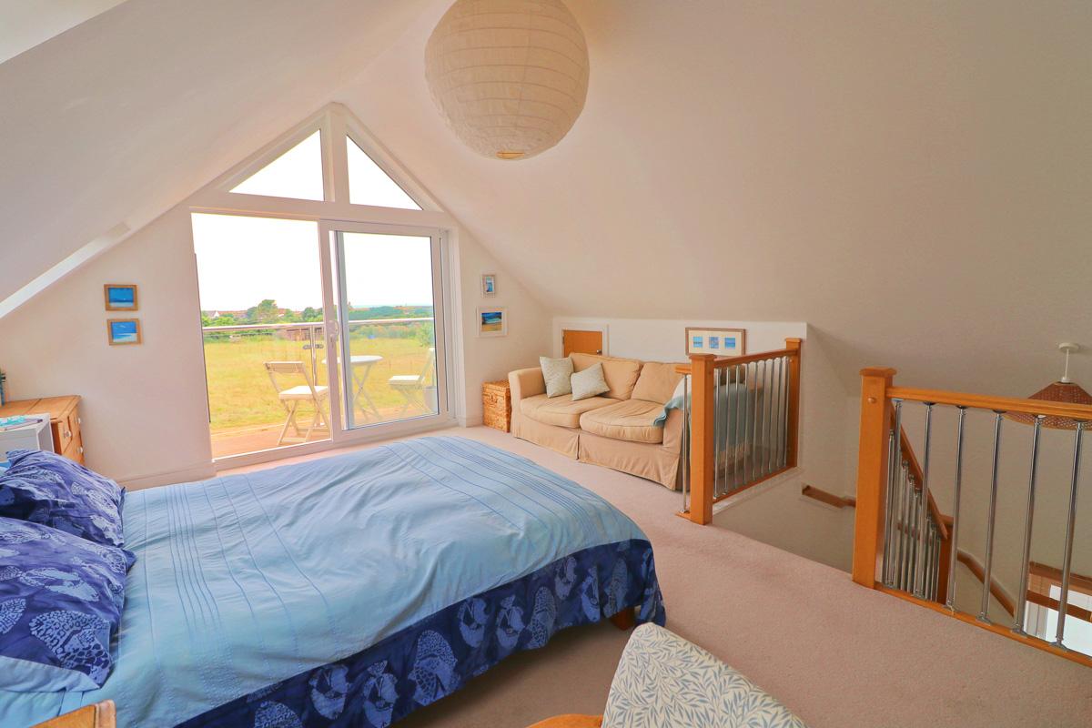 Waterhouse holiday home Cornwall bedroom 2