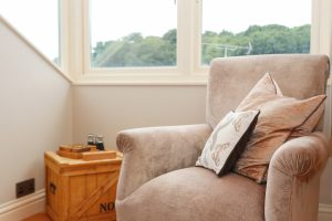 character holiday cottage in Padstow armchair