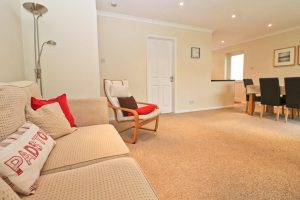 Sandpiper holiday home sitting room